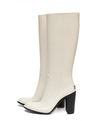 Gummistiefel White & Zipper High