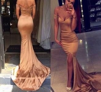 dress prom dress long prom dress ball gown dress elegant dress gold dress prom gown gown mermaid prom dress prom black dress