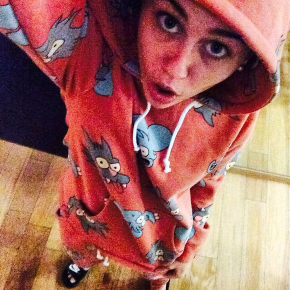 miley cyrus sweater jogging pants pants