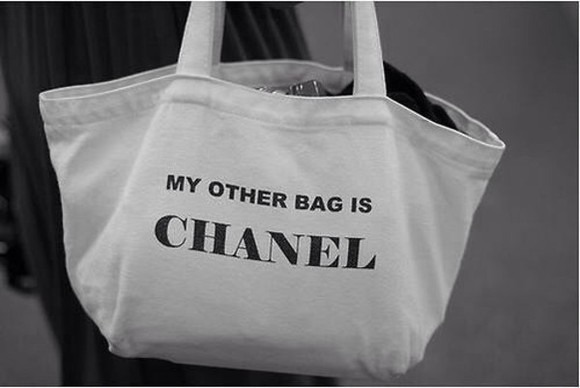 bag tote tote bag chanel