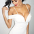Sweetheart Bardot Strap Midi Bandage Dress White