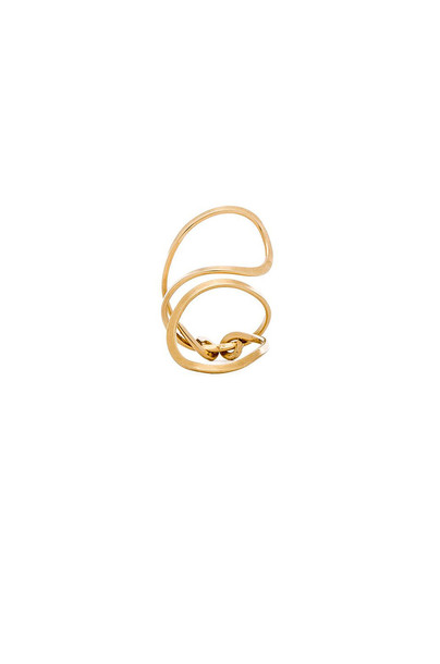Mimi & Lu Betty Ring in gold / metallic