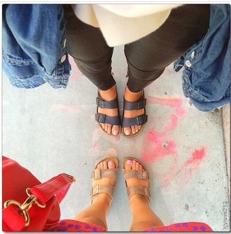 sandals black lilylove grey