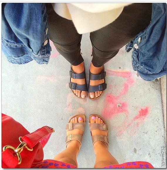 black grey lilylove sandals