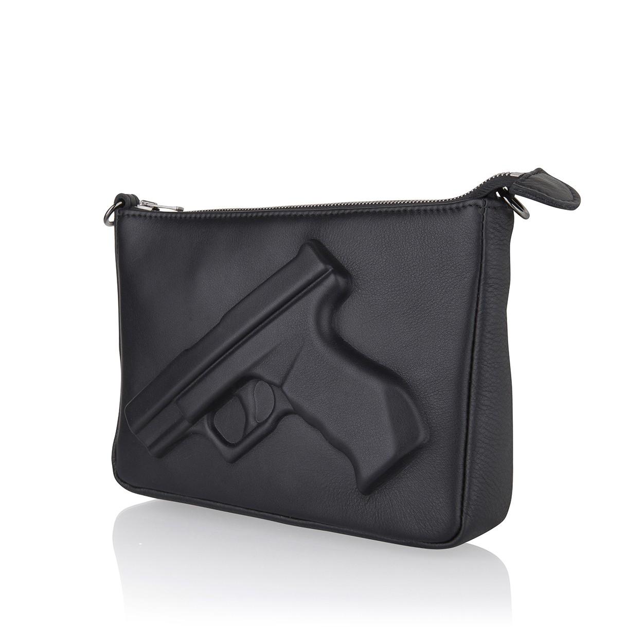 Guardian angel purse gun black