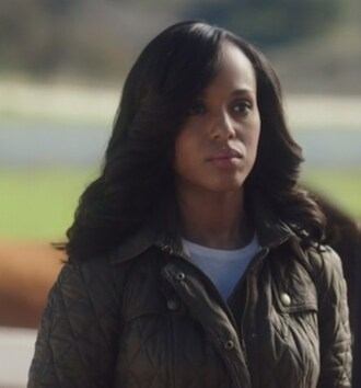 jacket belted quilted olivia pope kerry washington scandal burberry