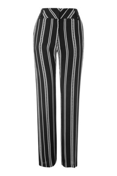 Topshop monochrome pants
