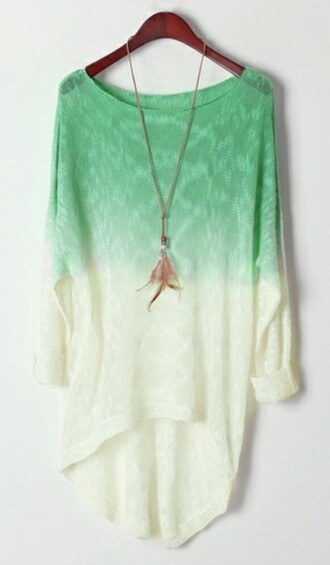 sweater jewels ombre