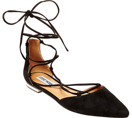 Steve Madden Sunshine Ankle-Tie d'Orsay Flat