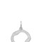 Monica vinader women`s riva diamond pendant