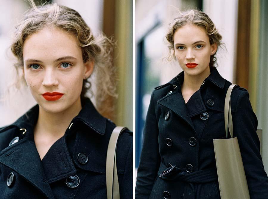 Vanessa Jackman: Burberry coat