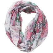 scarf,floral,multicolor