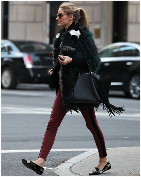 olivia palermo fall outfits pants