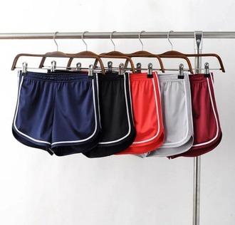 shorts sports shorts satin shorts navy shorts black shorts red shorts