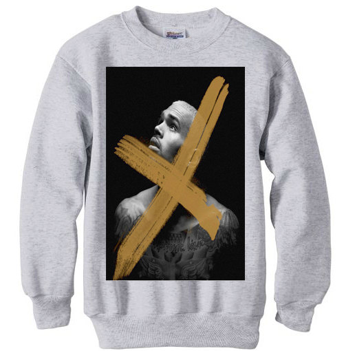 Chris brown sweatshirt shirt hip hop r&b drake rihanna lil wayne