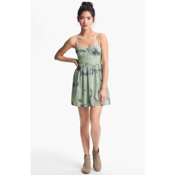dress bustier dress tie dye bustier denim dress
