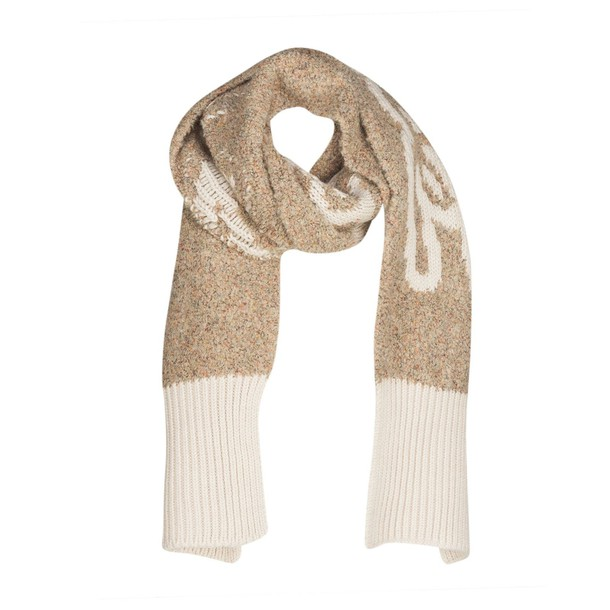 See by Chloe thick scarf beige