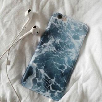 phone cover ocean iphone tumblr blue iphone case