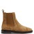 Chelaya brougue-detail suede chelsea boot