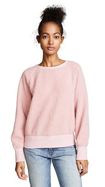 Rag & Bone/JEAN pullover pink sweater