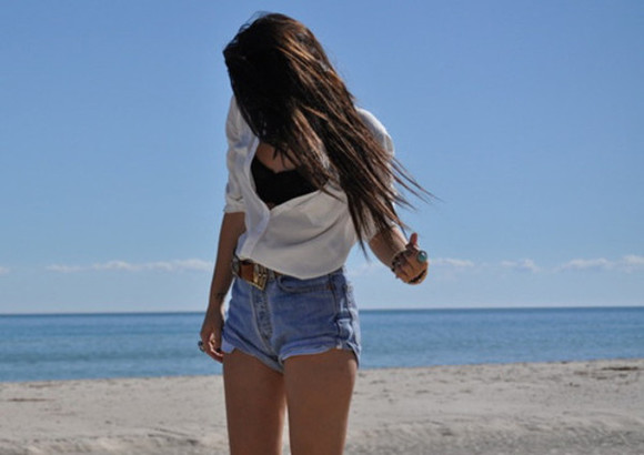 button up blouse shorts denim cute high waisted short