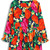 Floral Print Skater Dress with Balloon Sleeve [FXBI00641] - PersunMall.com