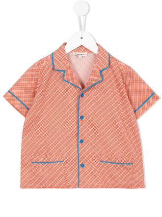 shirt girl yellow orange top