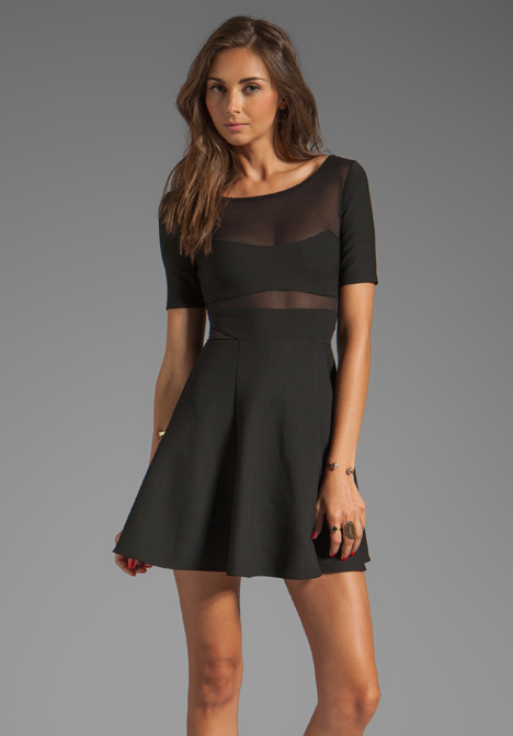 ELIZABETH AND JAMES Selena Dress in Black at Revolve Clothing - Free Shipping!