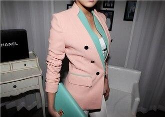 pale pink jacket jacket blue pink blue jacket pink jacket