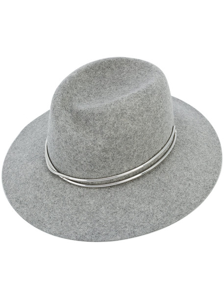 fedora grey hat