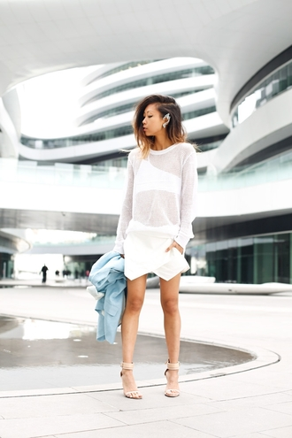 shoes underwear jacket skirt jewels sweater the haute pursuit