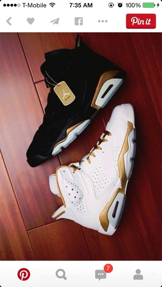 shoes jordan shoes gold sneakers