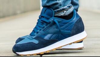 shoes blue reebok
