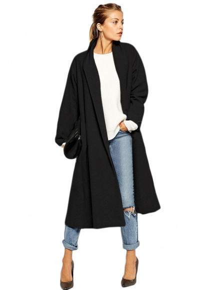 Water Drop Longline Coat – Outfit Made