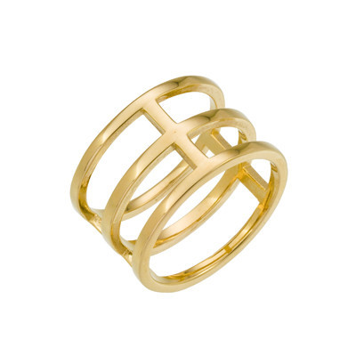 Lancaster | Three Tier Stack Ring | Svelte Metals