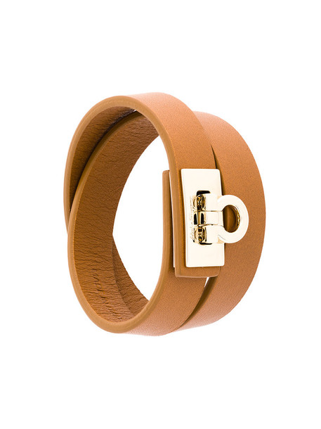 women leather brown jewels