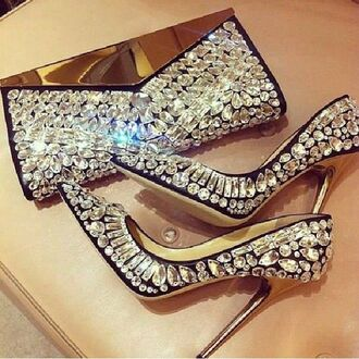 shoes pumps bling-bling