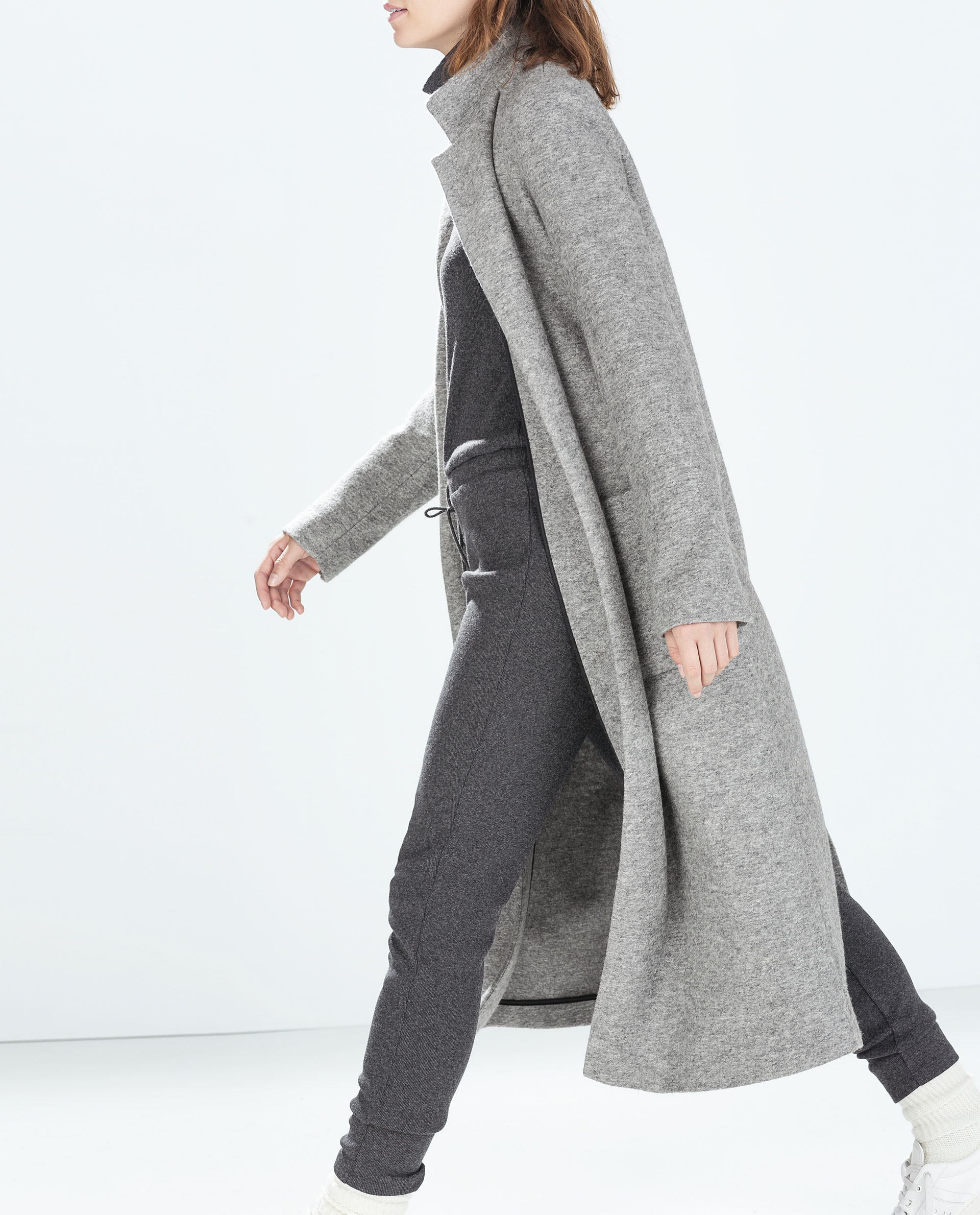EXTRA LONG COAT Outerwear TRF ZARA United Kingdom