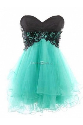 Line sweetheart prom dress