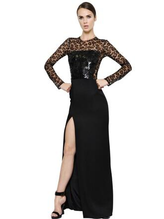 dress satin dress embellished satin black