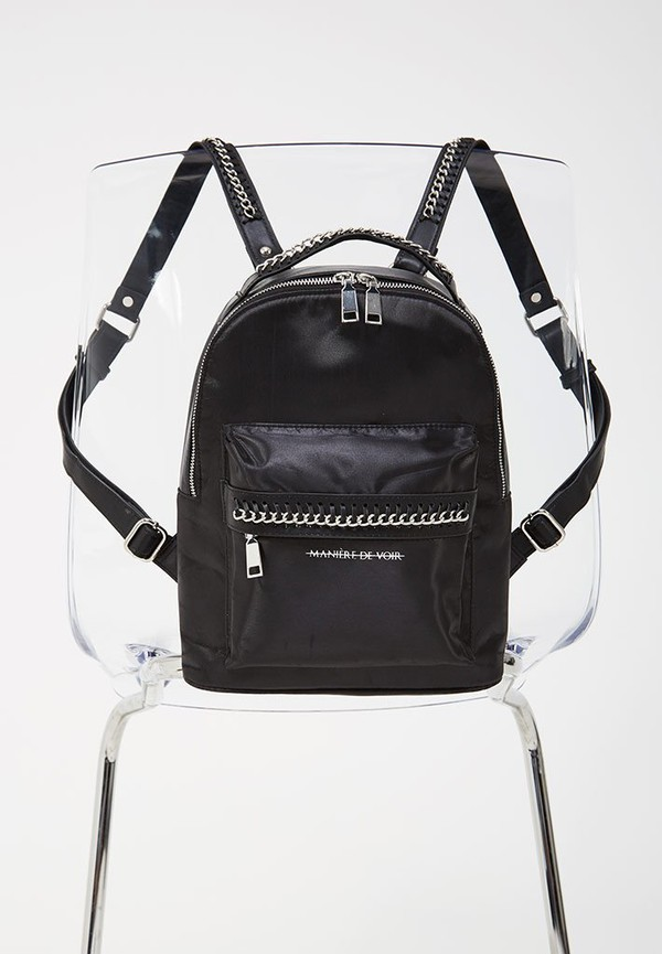 bag manière de voir top backpack black backpack