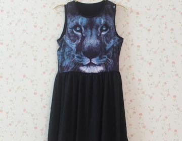 Cute 3D Print Animal Dress on Luulla