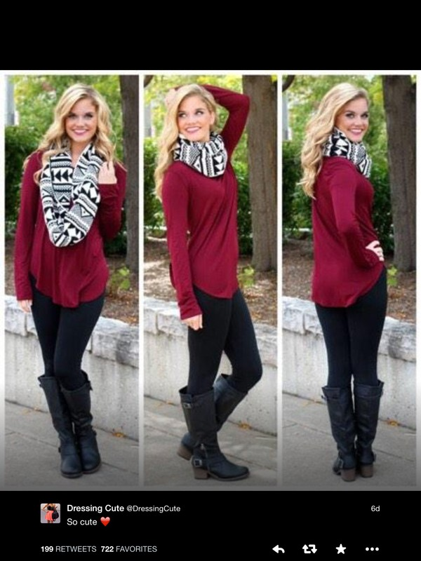 scarf black and white scarf aztec
