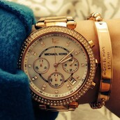 jewels,michael kors,watch,gold,gold jewelry,holiday gift,michael kors watch,gold watch,designer