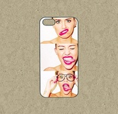phone cover,miley cyrus,iphone case,crazy