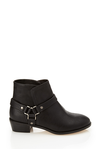 Harness Ankle Boots | FOREVER21 - 2000059893