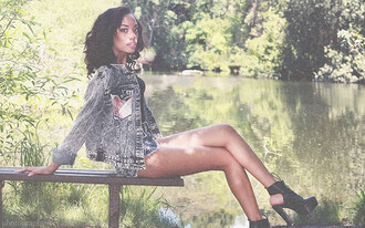 jacket denim denim jacket jean jackets plaid jacket plaid black girls killin it heels high heels dope