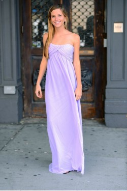 Grecian Lavender Dress