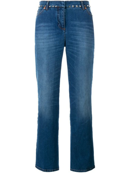 Valentino jeans women spandex cotton blue