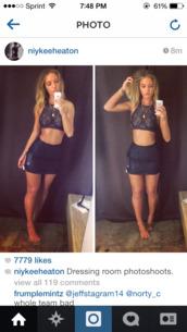 top,clothes,niykee heaton,celebrity style,black skirt,crochet crop top